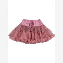 -Danefae Warm Rose Ballarina tulle skirt-21