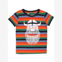 -Danefae multi-striped t-shirt with Wiking Erik-21