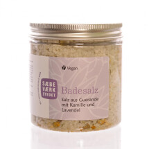 -Bath salts with chamomile and lavender-21