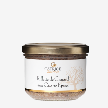 -Rillette de Canard with spices / duck rillette from Provence-21