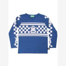 -Danefae blue basic shirt with Radchecker Erik-21