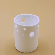 -Small porcelain vase-21