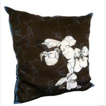-Orchid Empress Contour Silk Pillow-21