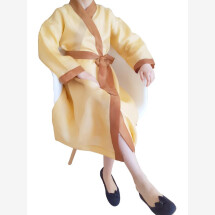 -Yellow summer dressing gown-21