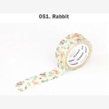 -Bunny flower masking tape-21