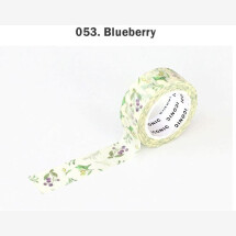 -Blueberry flower masking tape-21