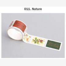 -Nature stamp masking tape-21