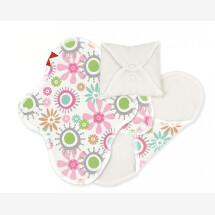 -Imse Vimse sanitary towels pink Flowers-21
