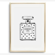 -Tales by Jen Art Print: Dotted Perfume Bottle-2