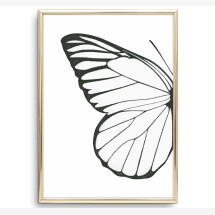 -Tales by Jen Art Print: Butterfly Wing Left-2