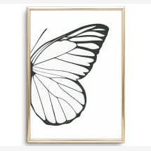 -Tales by Jen Art Print: Butterfly Wing Right-2