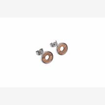 -BeWooden Lini earrings circle-21