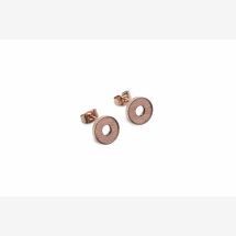 -BeWooden Lumen Earrings Circle-21