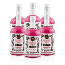 -Set of 6 Breaks Rose Berry Gin Handcrafted Bottle 500ml-21