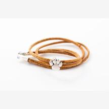 -Sylo jewelry wrap bracelet made of cork with one paw-21