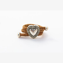 -Sylo jewelry ring made of cork with a heart-21
