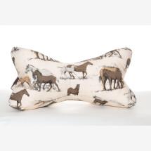 -Reading bone neck pillow bookend tablet pillow horse-21