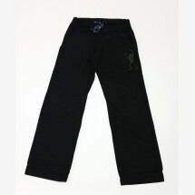 -French Terry Pants Black Frog by Ku Ambiance-21