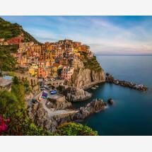 -Liguria Manarola in the evening by Jean Claude Castor-21