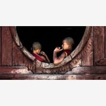 -Burma Contemplative Monks by Jean Claude Castor-21