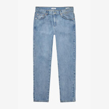 -Woodbird Stone Washed Blue Doc Stone Jeans-2