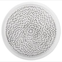 -Breakfast plate Delicate Gray-21