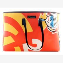 -Brompton Bag Miramar // Red-Yellow-White-26