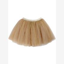 -Danefae Gold Glitter Sparkle Tulle Skirt-21