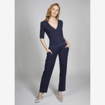-Jumpsuit Mina viscose dark blue-21