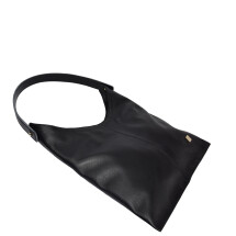-Soft leather hobo bag black-21