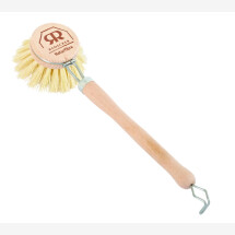 -Dishwashing brush with replaceable fiber head-21