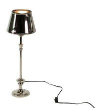 -Table lamp aluminum with lampshade-21