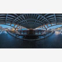 -Berlin Crown Prince Bridge Panorama by Jean Claude Castor-21