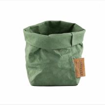 -UASHMAMA Paper Bag Piccolo salbei-21