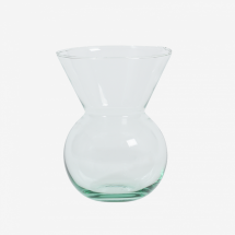 -URBAN NATURE CULTURE Vase made from recycled glass S-21
