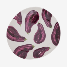 -URBAN NATURE CULTURE plate with aubergines-21