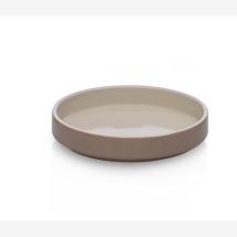 -Ichendorf Milano ARCIPELAGO bowl stoneware 21 x 4 cm ivory / sand-21