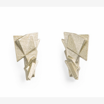 -Maison 203 earrings 3D printing fragments gold / silver-21