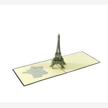-Muno Postcard Paris Eiffel Tower-21