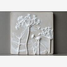 "-Relief picture ""Taramah Wedgewood"" white / beige-21"