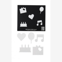 -Design Letters Message Board Happy Birthday Icons-2