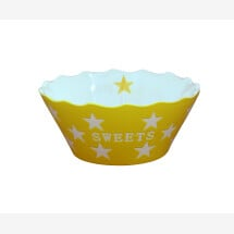 -Krasilnikoff Bowl SWEETS Star YELLOW-20