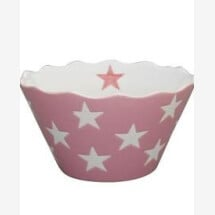 -Krasilnikoff MICRO HAPPY BOWL LIGHT GRAY WITH STARS DUPLICATE-20