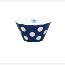 -DARK BLUE MICRO HAPPY BOWL WITH DOTS Krasilnikoff-2