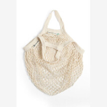 -Turtle bag made of GOTS certified organic cotton in white with short crochet-21