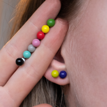 """-""""COLORI"""" ear studs in great colors-21"""
