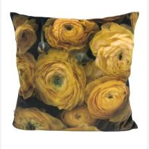 -Pad Concept Yellow Mustard Pivot Flower Cushion Cover-21