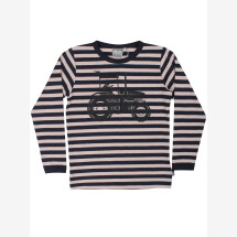 -Danefae Off-White Striped Shirt with Erik tractor-21