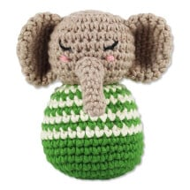-Crochet rattle elephant-21