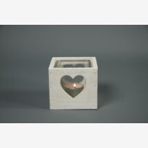 -Lantern wood with heart cutout and glass Shabby Chic DUPLICATE-20